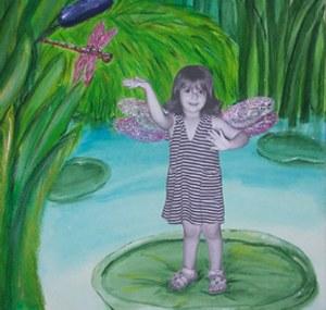 ציור קסום של מאיה רוזנבאום