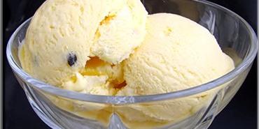 גלידת פסיפלורה
