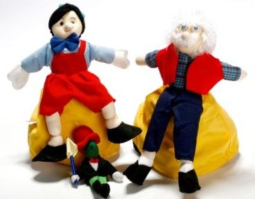 בובות סיפור פינוקיו